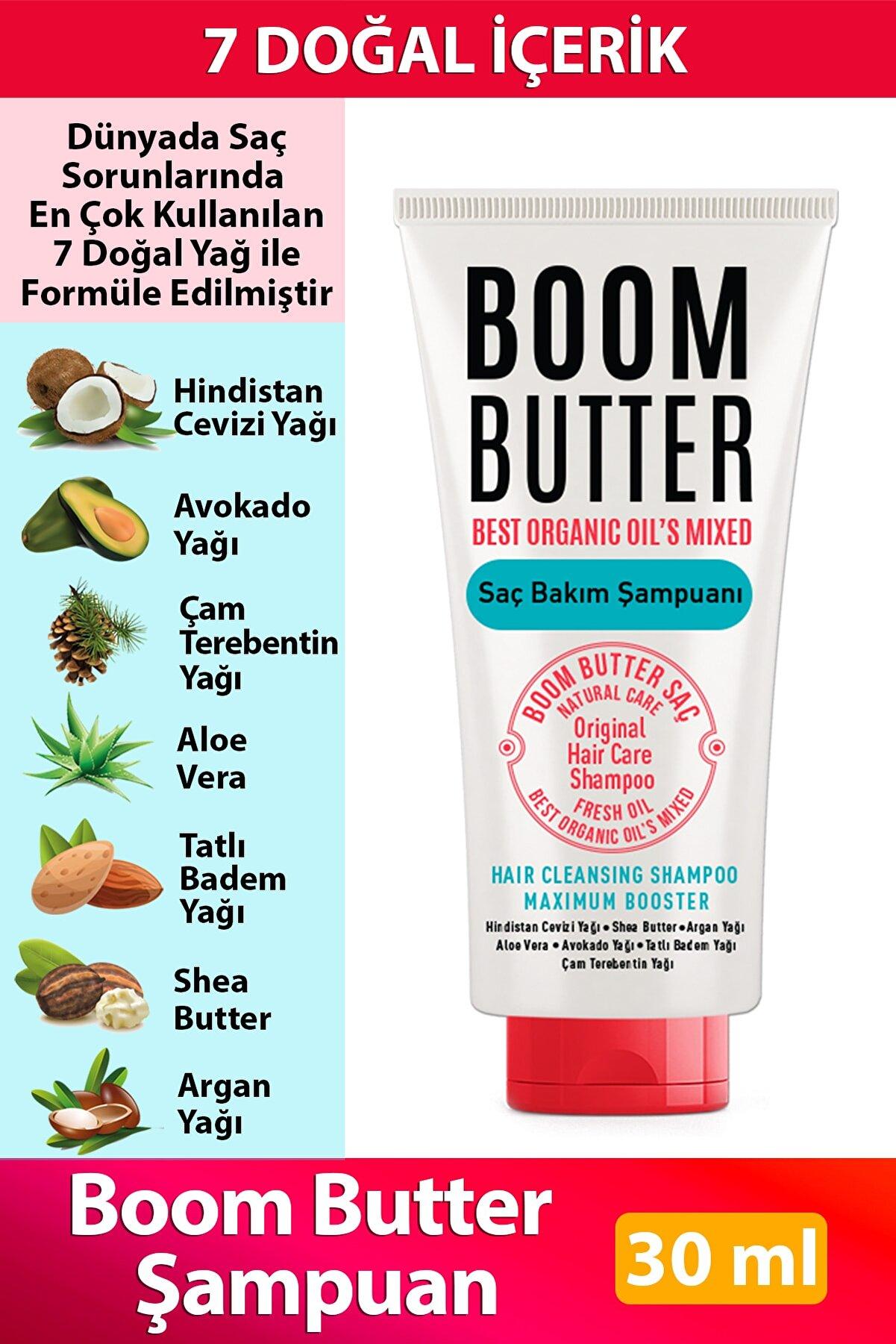 Herbal Science Boom Butter Saç Bakım Şampuanı 30 ml