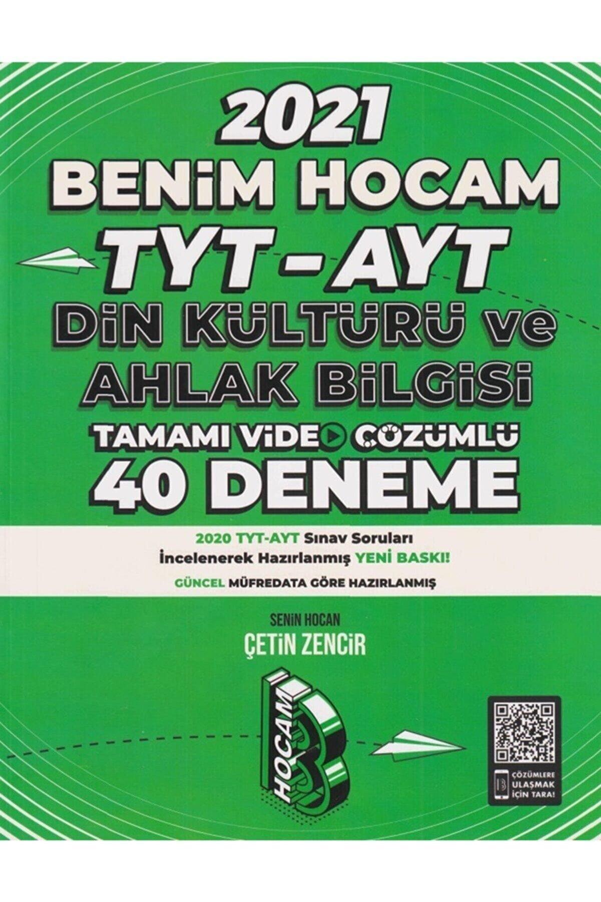 Benim Hocam Yayınları 2021 Tyt Din Kültürü Ve Ahlak Bilgisi Tamamı Video Çözümlü 40 Deneme Sınavı