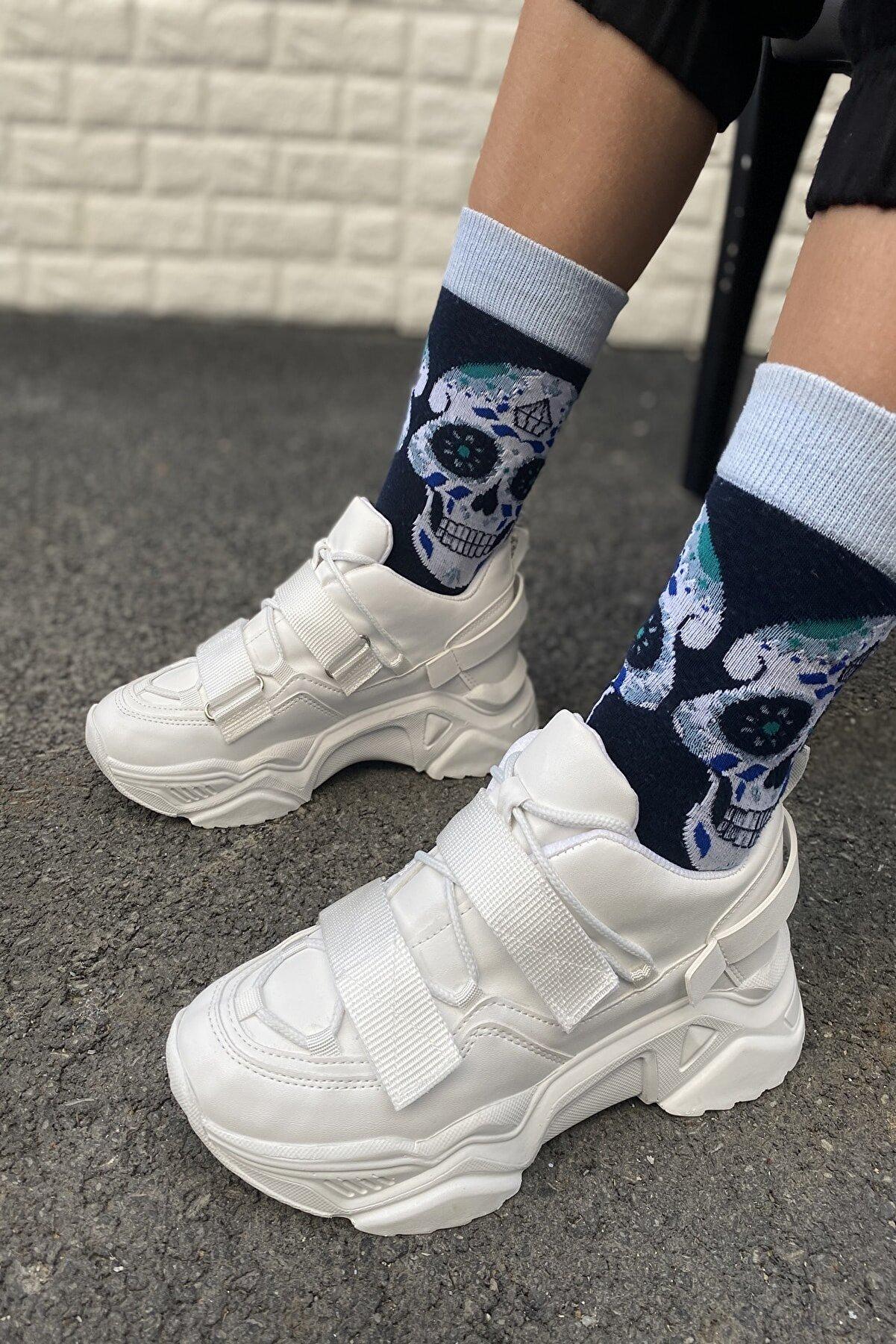 İnan Ayakkabı Kadın Beyaz Ayakkabı&Sneaker INASPORT10