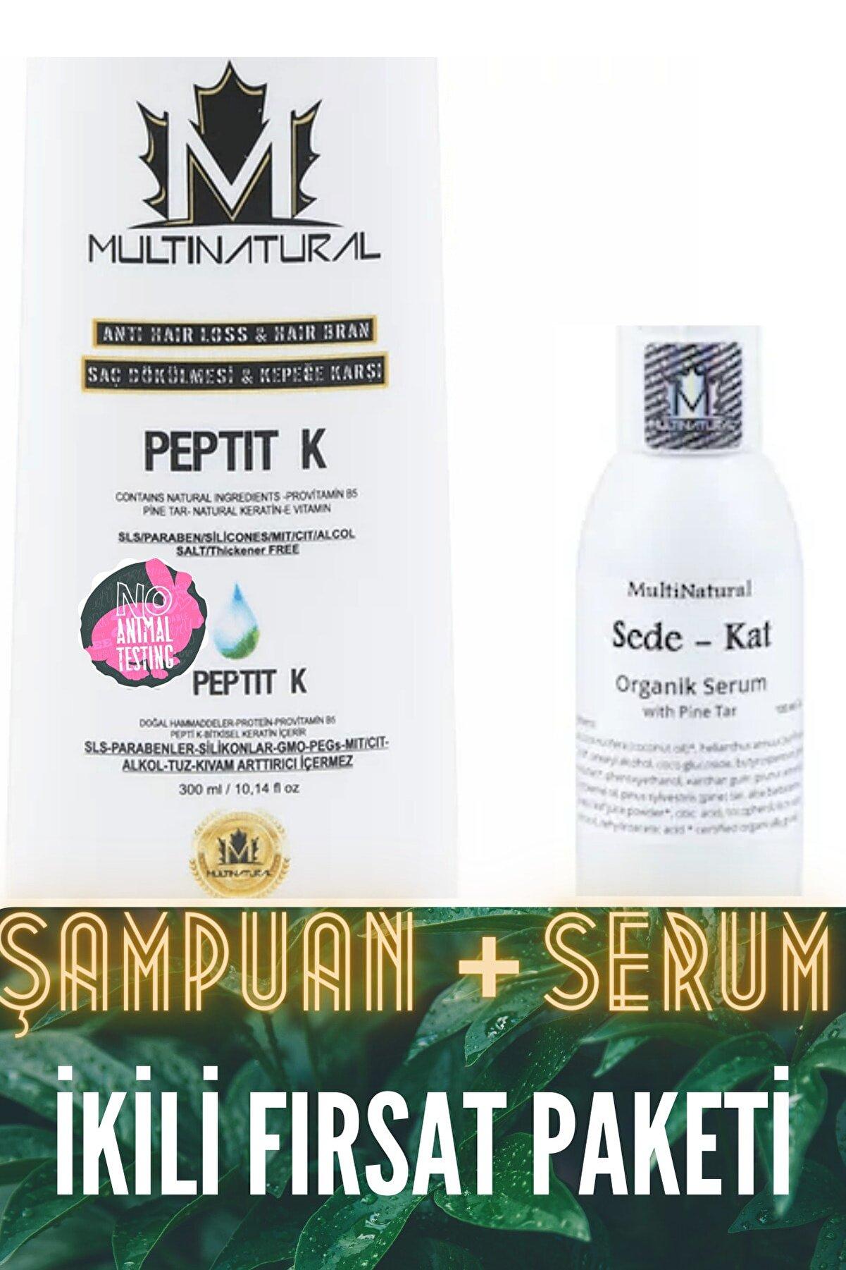 multinatural Egzama Kepek Şampuanı + Egzama Sivilce Mantar Yardımcı Serumu