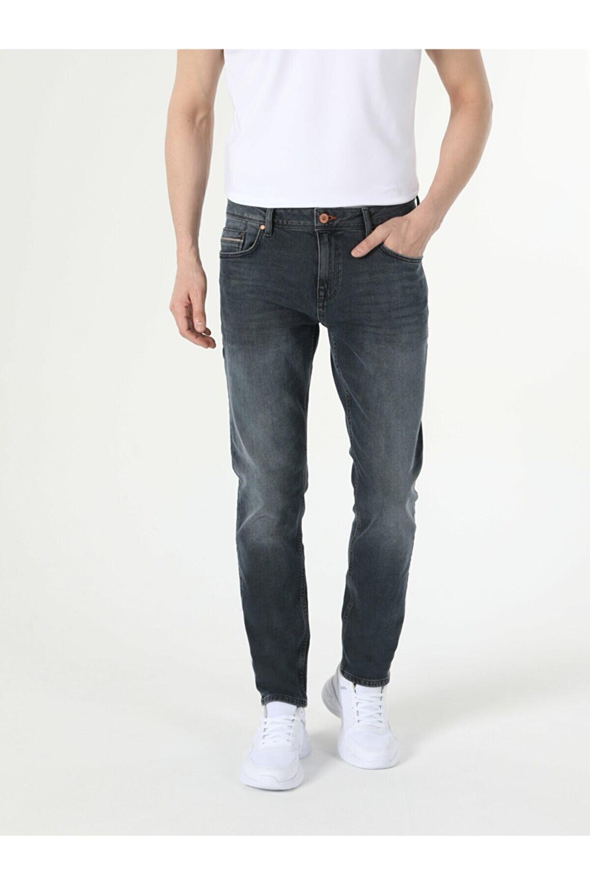 Colin's Karl Düşük Bel Düz Paça Straight Fit Jean Erkek Jean Pantolon