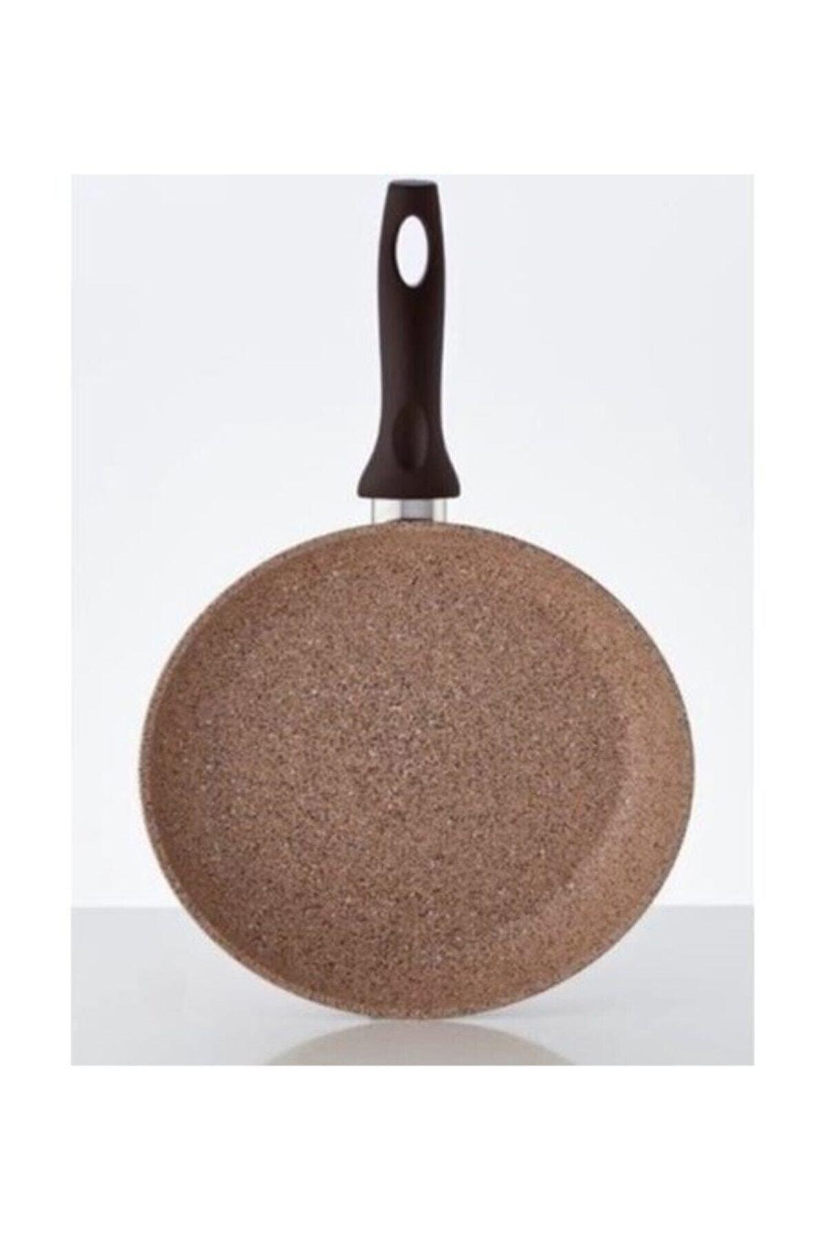 Falez Creamy Granitec 24 Cm Tava