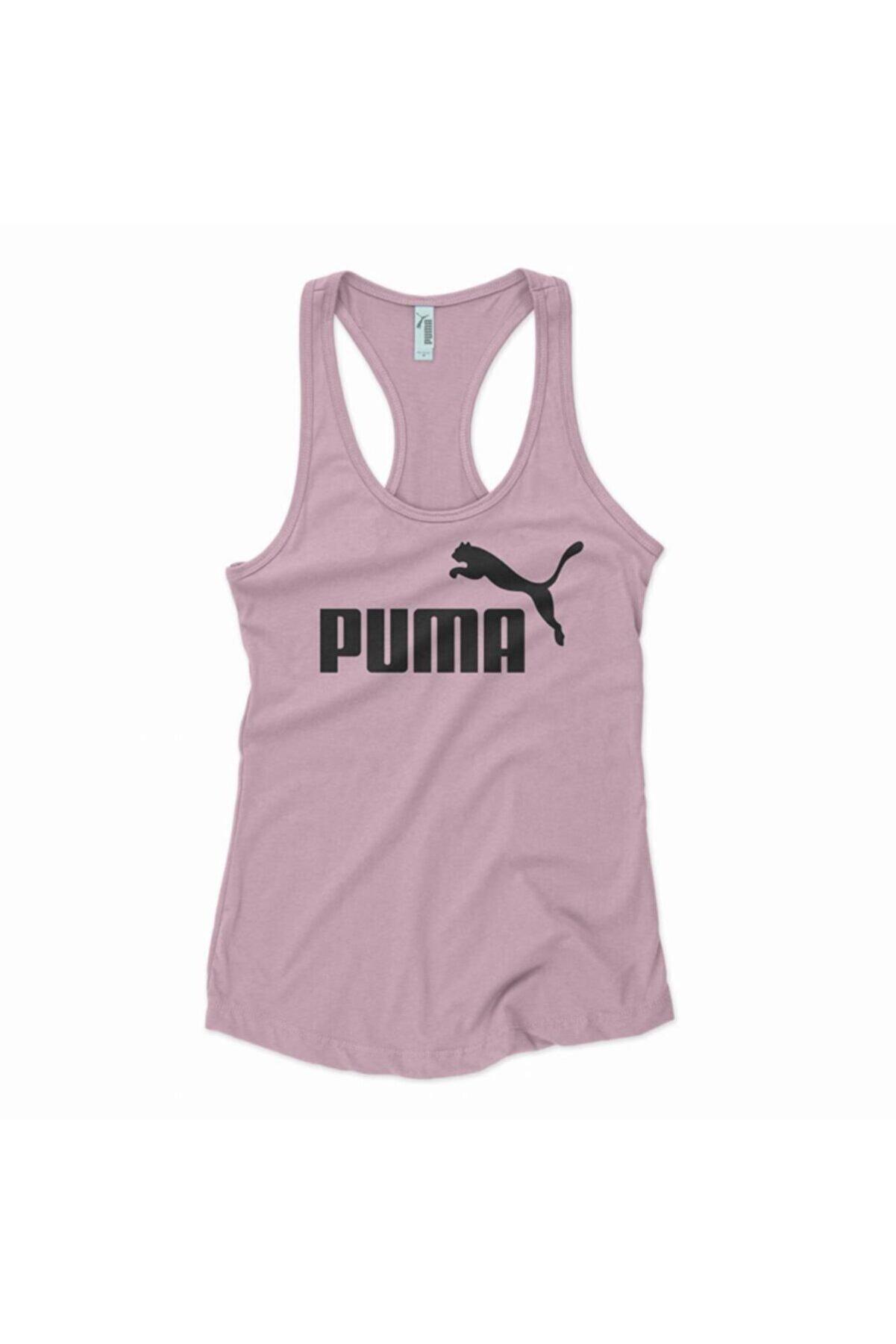 Puma Bayan Sporcu Tshirt - Tank Top Pla Mauve