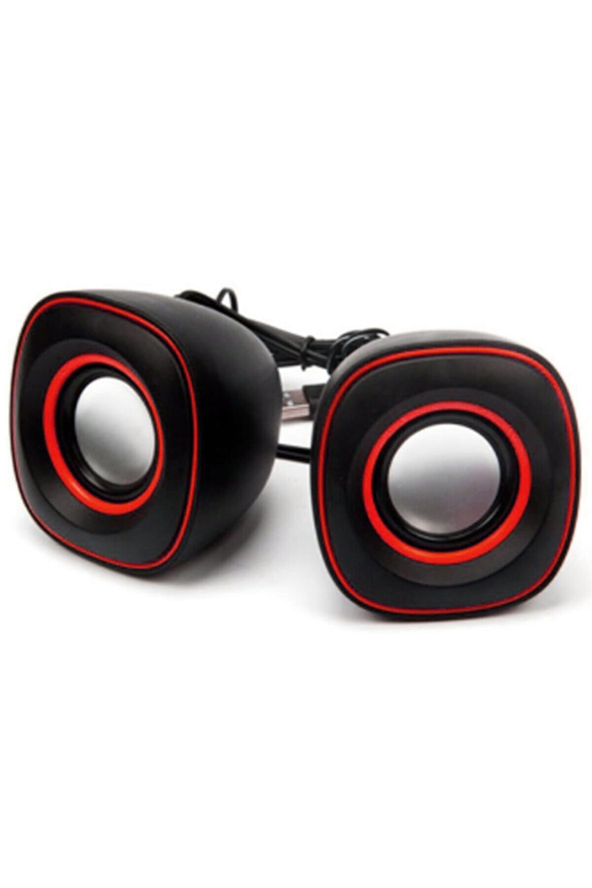 WOZLO 1+1 Mini Usb 2.0 Hoparlör Ses Sistemi Pc Laptop Notebook Speaker