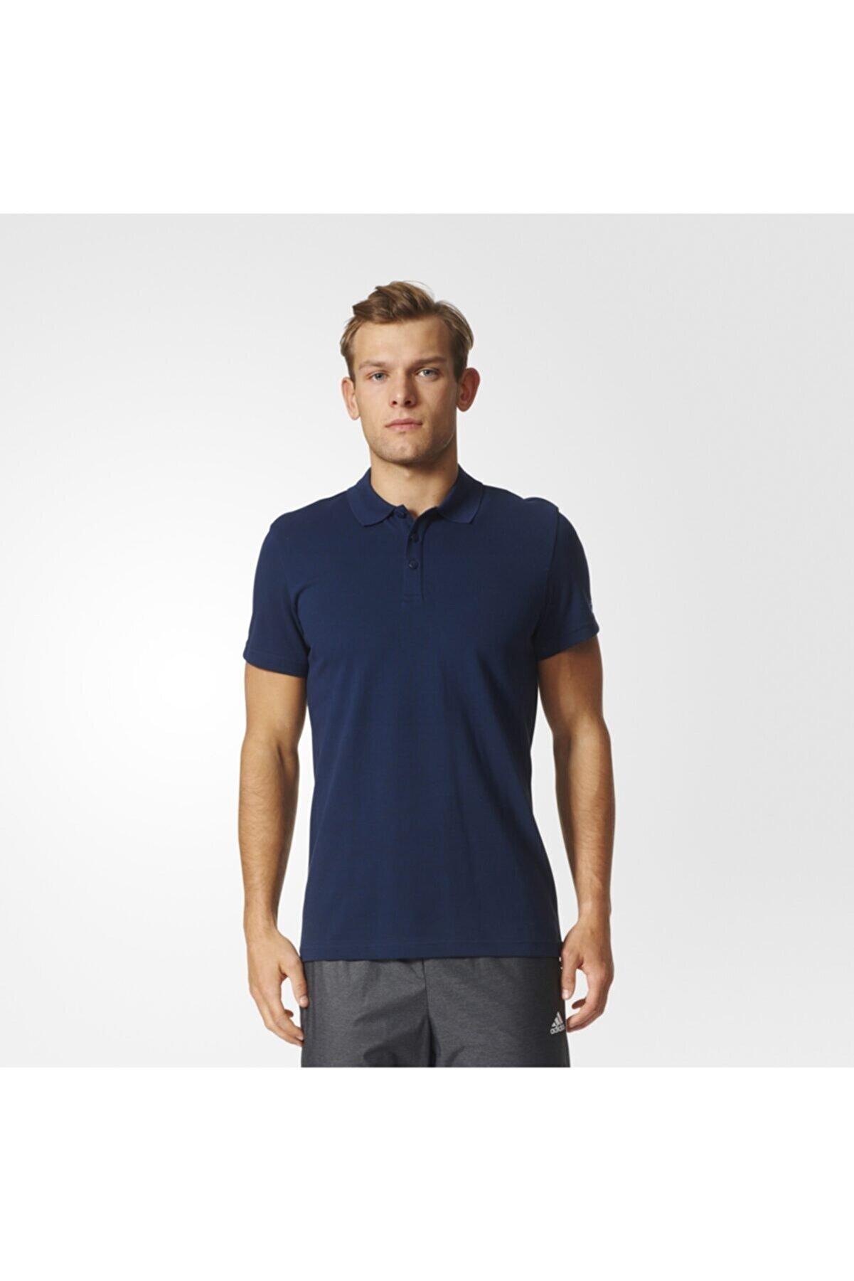 adidas Erkek Polo Yaka T-shirt - Ess Base Polo - S98755