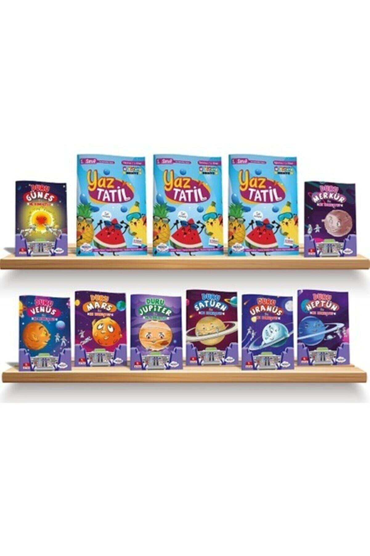 Öğretmen Evde İlkokul Yayınları 1.sınıf Yaz Tatil Kitabı Seti – Öğretmen Evde Yayınları