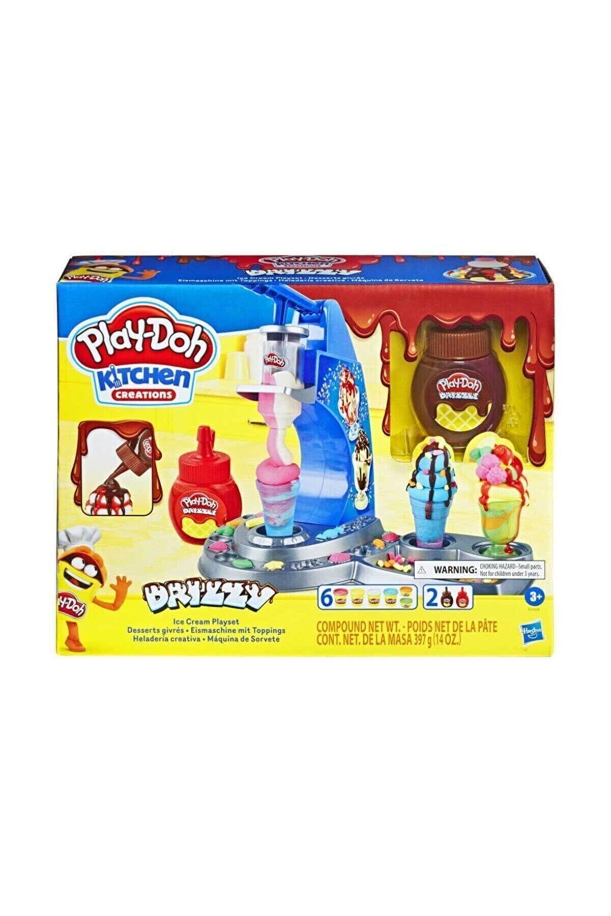 Play Doh Renkli Dondurma Dükkanım Oyun Hamuru