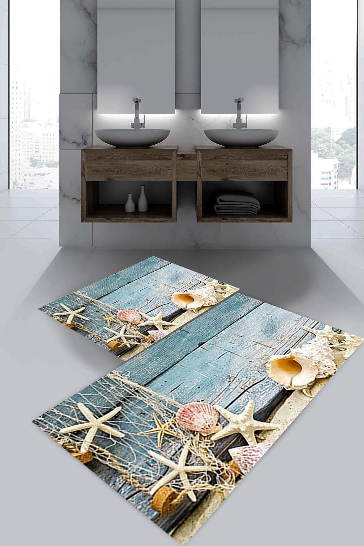 Evsebu Deniz Yıldızı Banyo Paspası