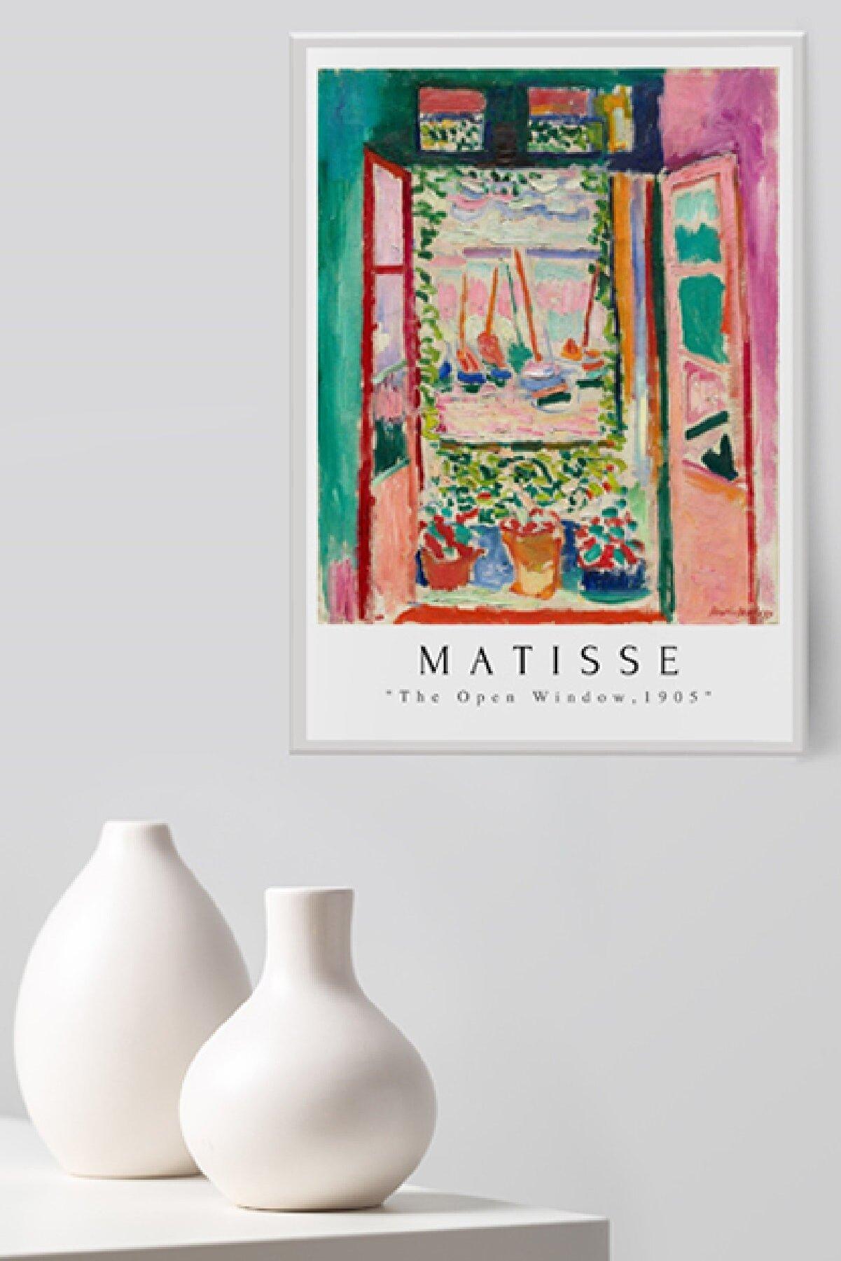 Sem Fine Art The Open Window By Henri Matisse Çerçevesiz Poster