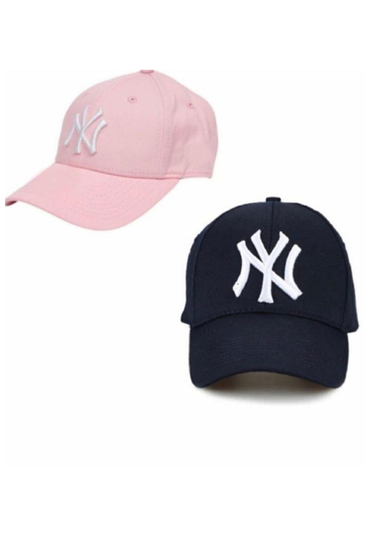MaviMoure Unisex 2*li Paket Şapka
