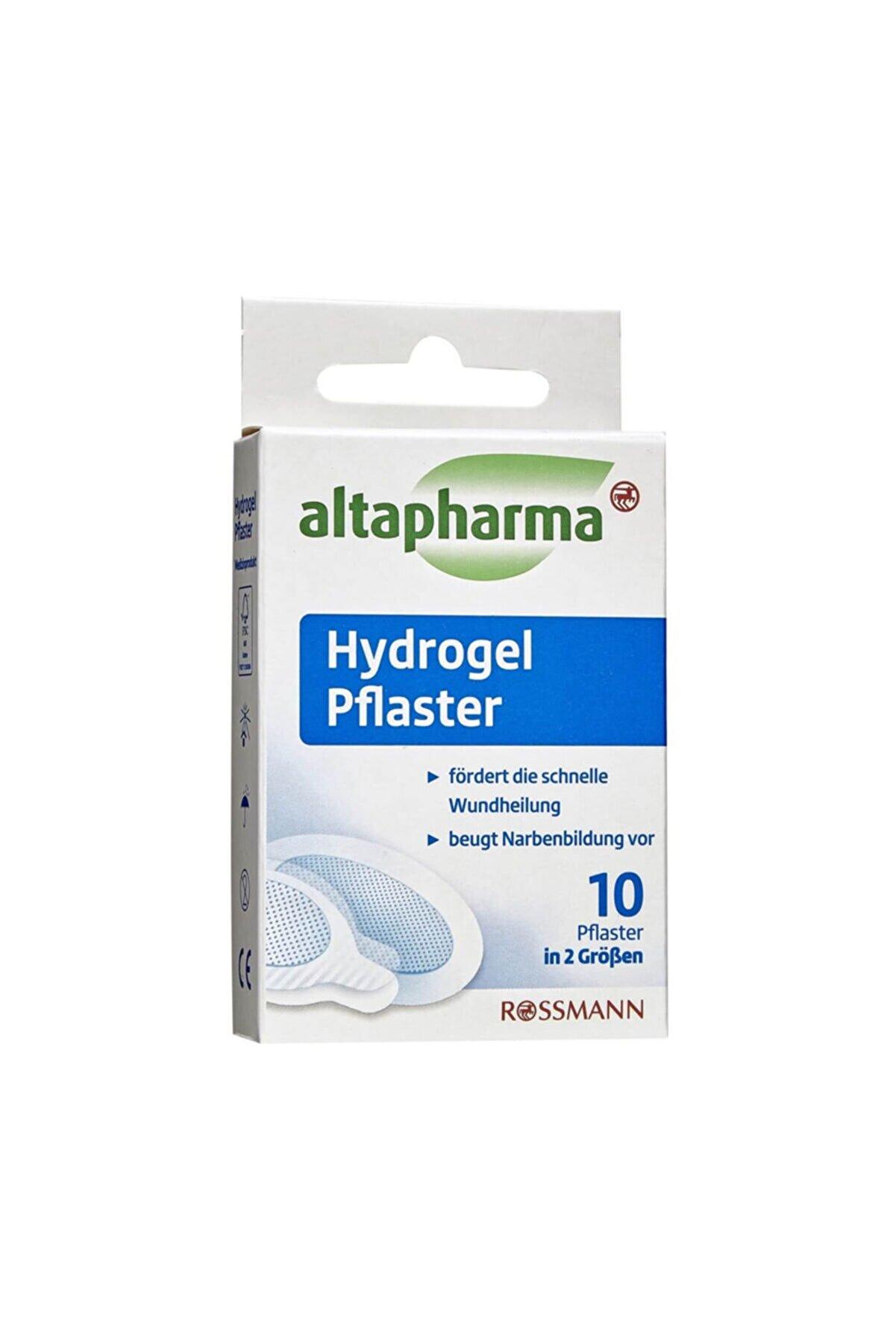 Altapharma Hidrojel Yara Bandı Sensitiv 2 Farklı Boyutta 10 Adet