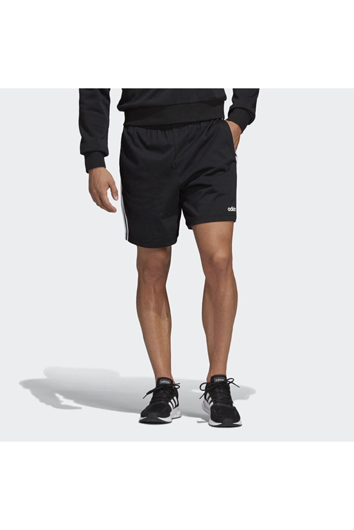 adidas E 3S SHRT SJ 1, Siyah Erkek Uzun Şort 100547693