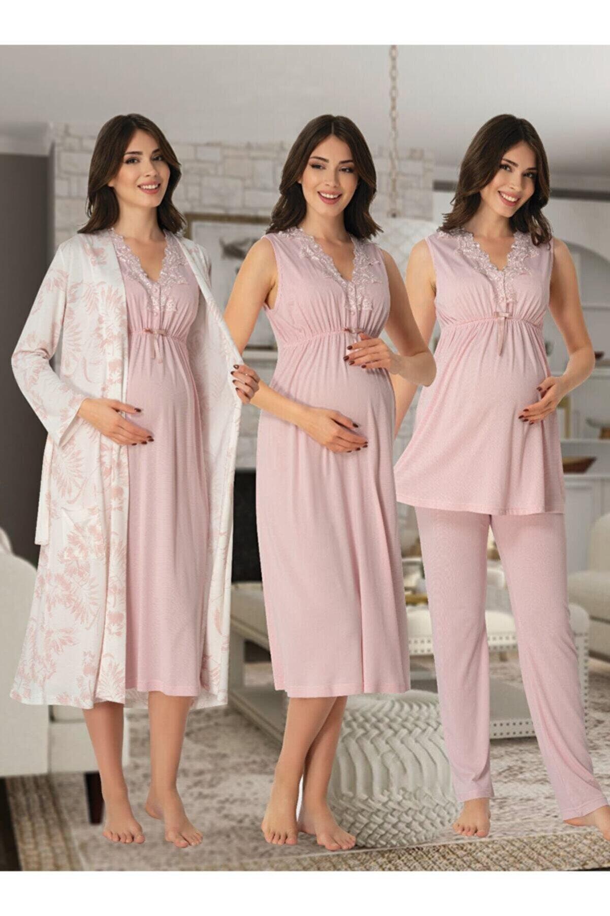 Effort Pijama Kadın Lohusa Hamile Set 8036