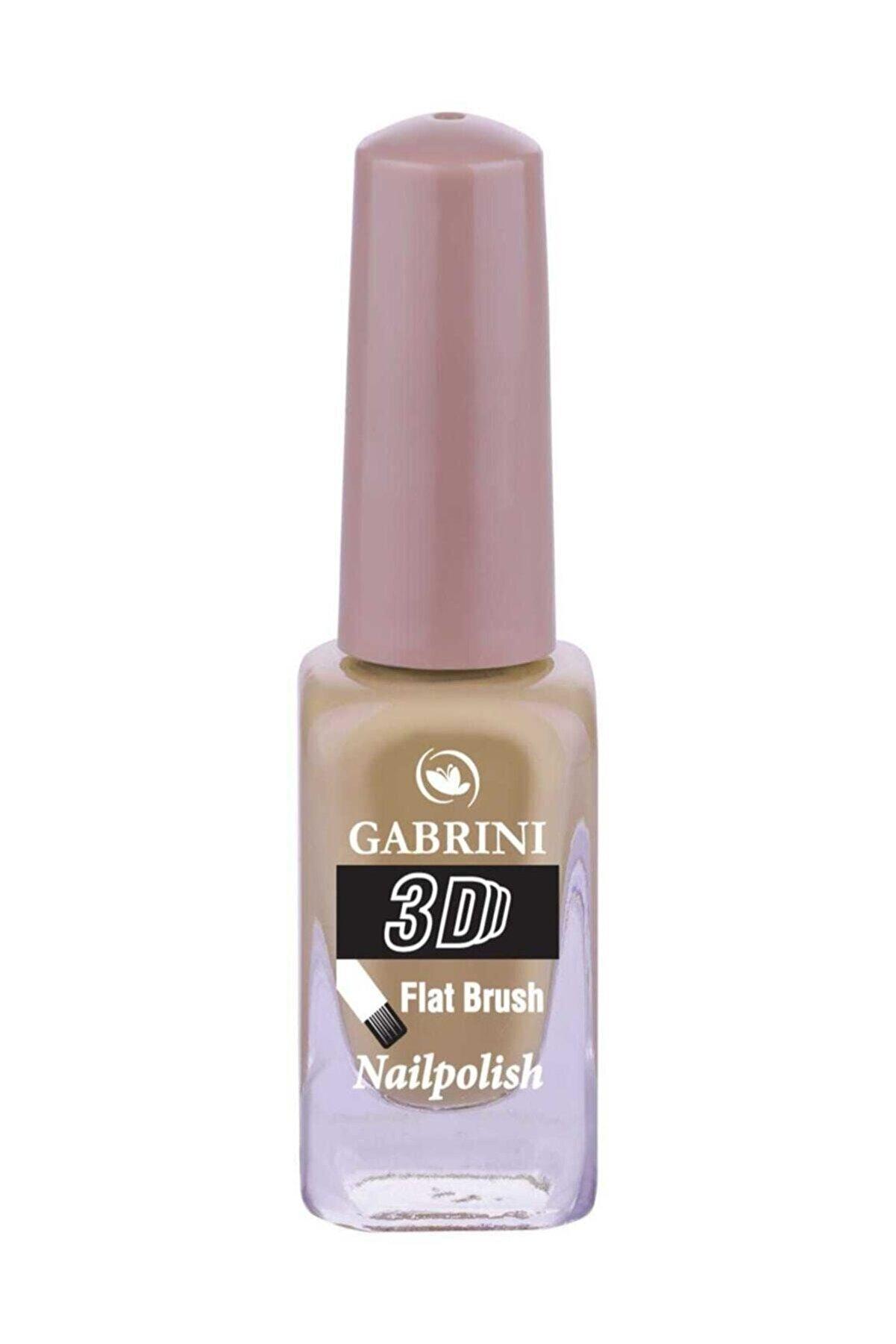 Shaka 07 Gabrini Oje - 3d Flat Brush Nailpolish (13 Ml )