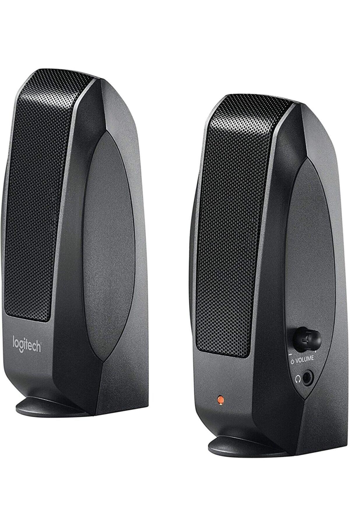 logitech S120 1+1 Siyah Speaker Yeni Seri Rms 4.4w 980-000010