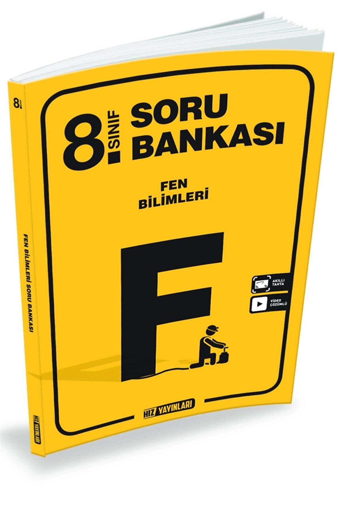 Hız Yayınları 8.sınıf Yeni Nesil Fen Bilimleri Soru Bankası
