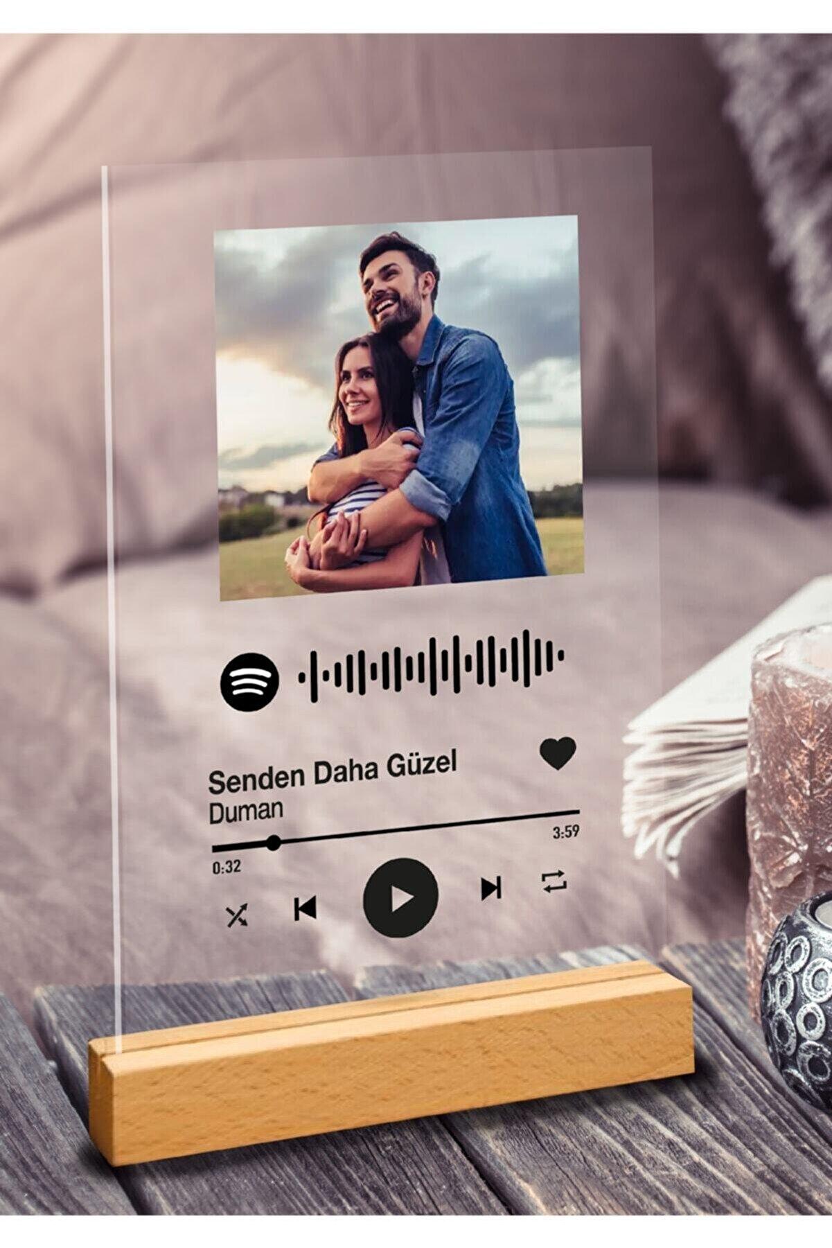 PROLİFE Sevgiliye Özel Spotify Barkodlu Plak 1