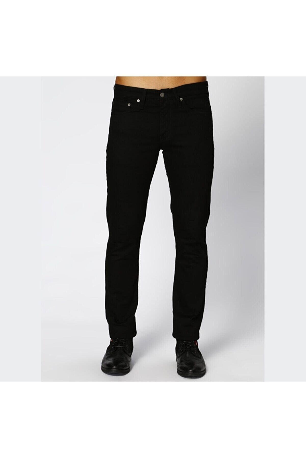 Levi's Erkek Siyah 511 Slim Fit Jean Pantolon 04511-1507