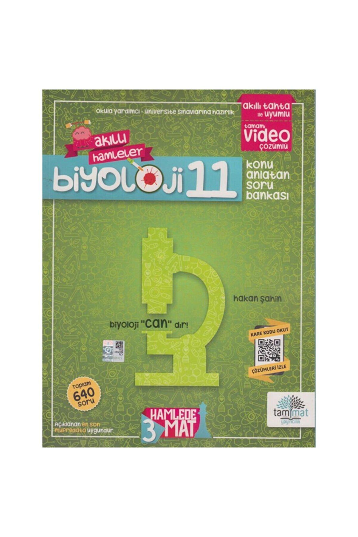 Tammat Yayınları 11. Sınıf Biyoloji Konu Anlatan Soru Bankası