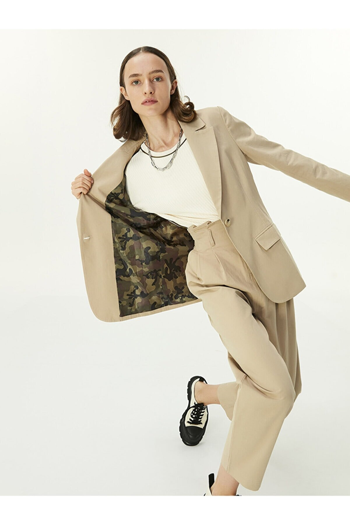 Twist Blazer Ceket