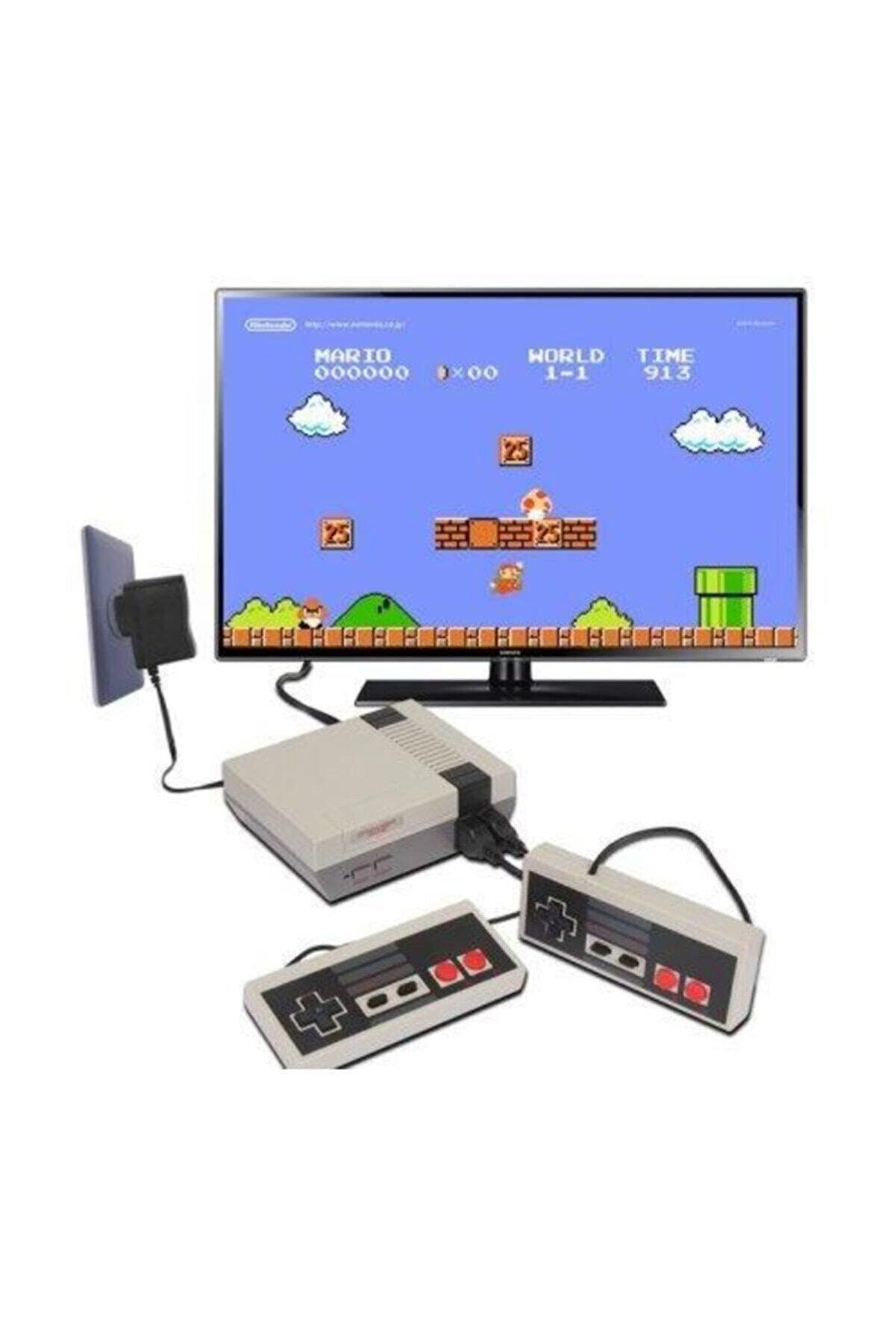 Atari Retro Mini 620 Mario Oyunlu Av Retro Mini Oyun Konsolu (SCART BASLIKSIZ)
