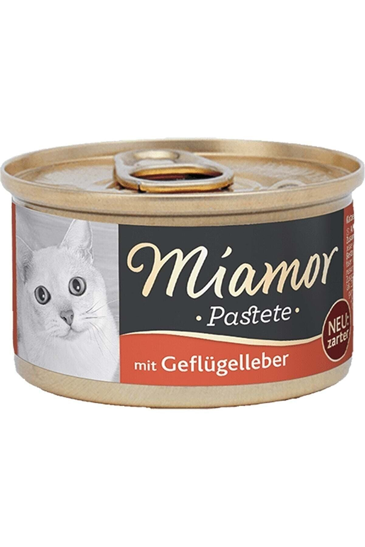 Miamor Pastete Kedi Ciğerli 85 G