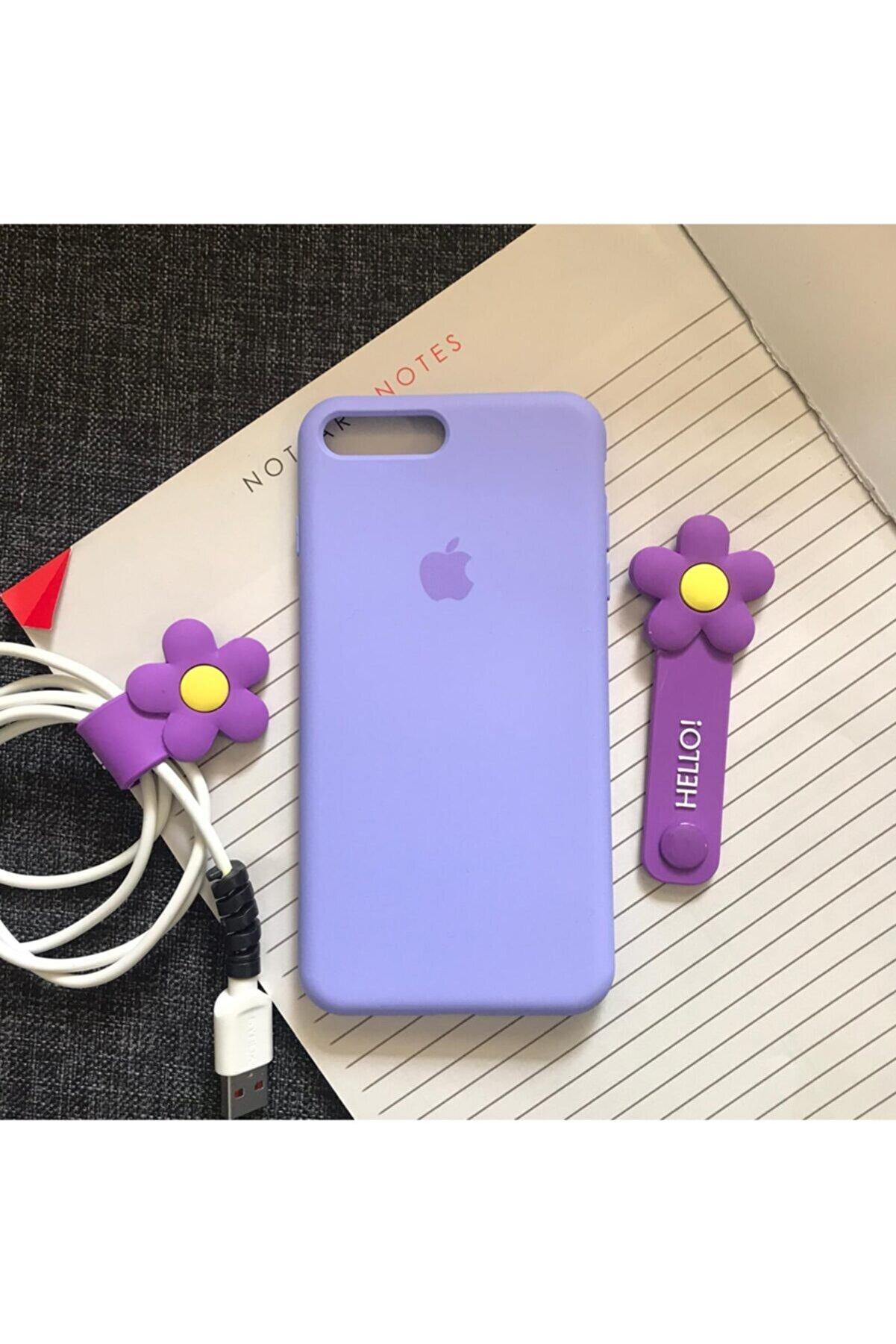 SUPPO Iphone 7plus/8plus Uyumlu Logolu Lansman İçi Kadife Silikon Kılıf