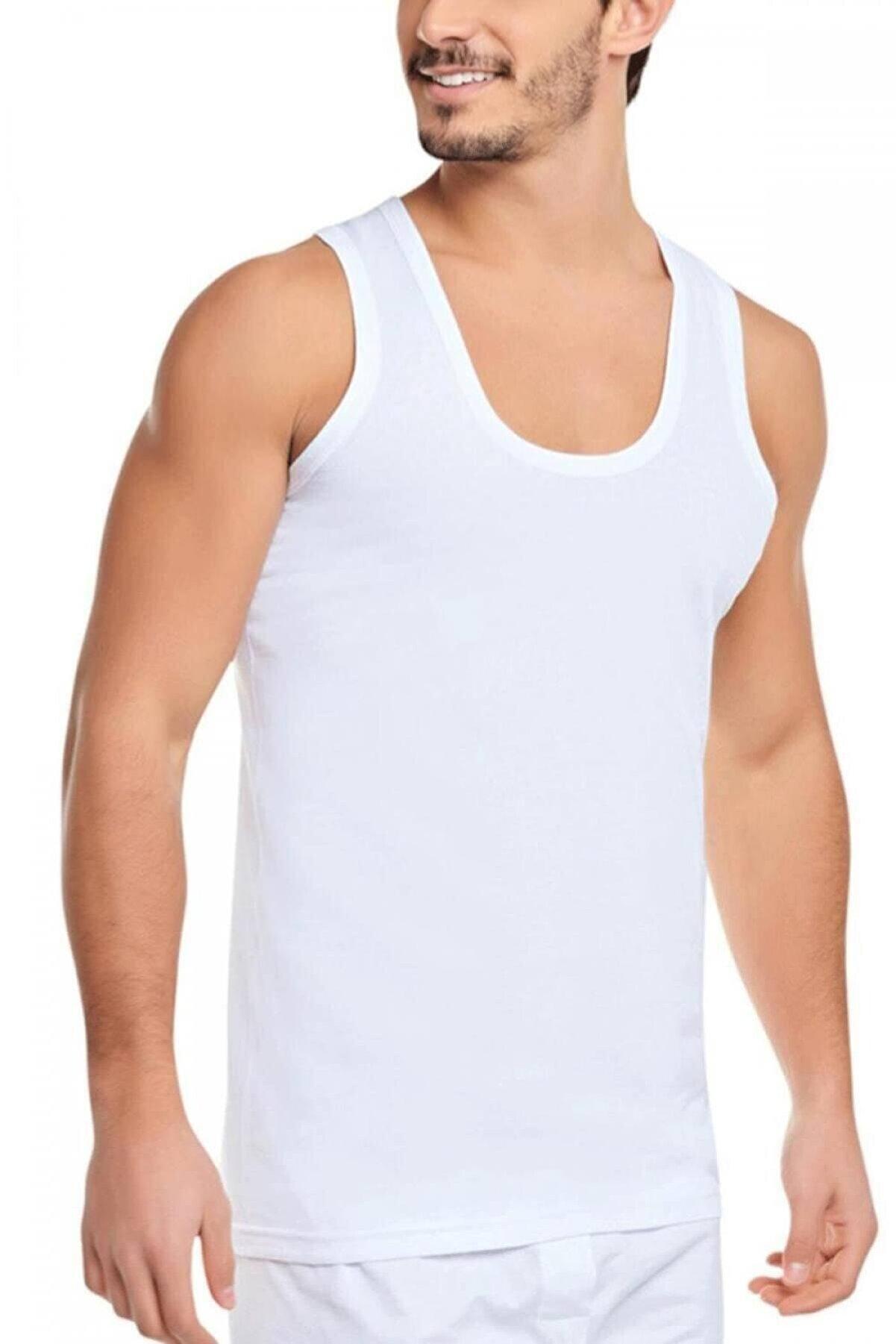 KMK Shop Antibakteriyel Rahat Kesim %80 Pamuk Erkek Atlet