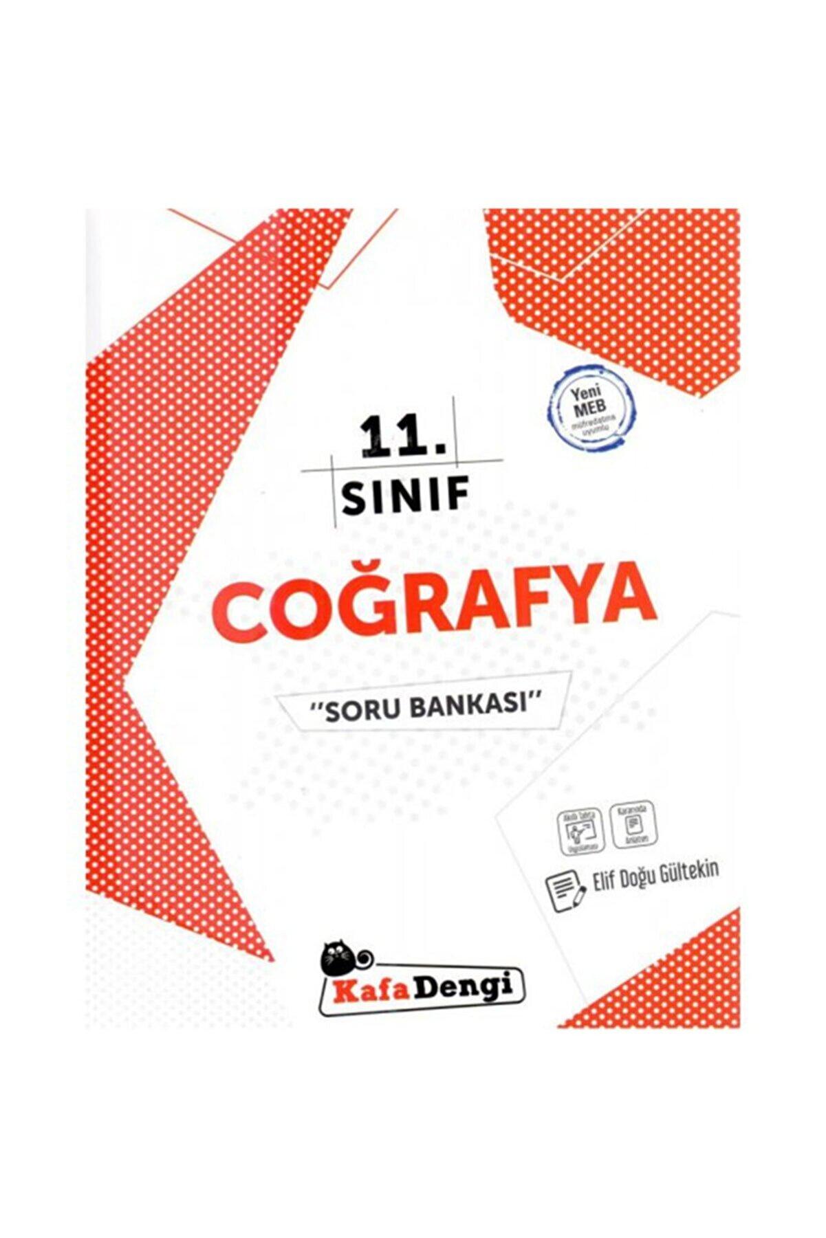 Kafa Dengi Yayınları Kafa Dengi 11.sınıf Coğrafya Soru Bankası (YENİ)
