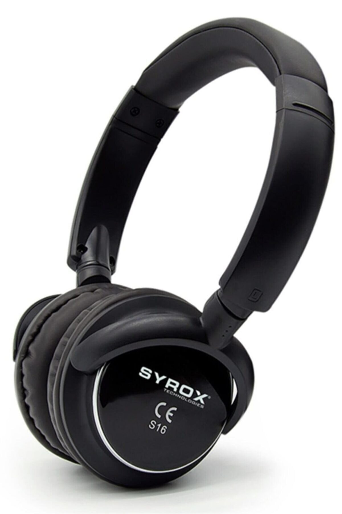 Syrox Siyah J-84 As16 16 Bluetooth 4 Fonksiyonlu Kulak Üstü Kulaklık S16
