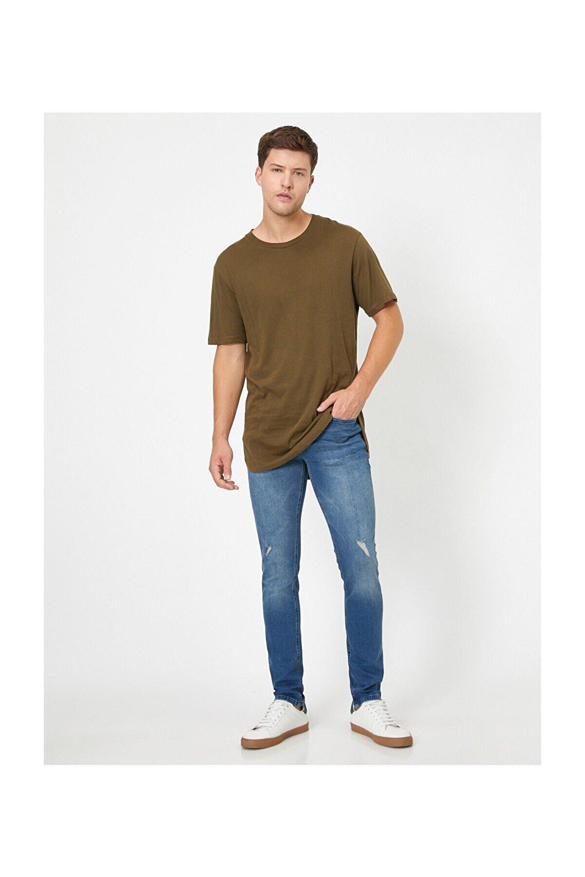 Koton Erkek Indıgo Jeans 1KAM43415LD
