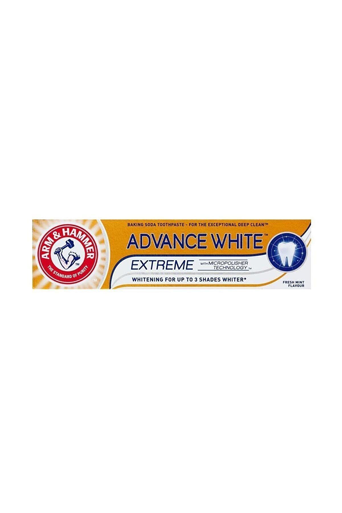 Arm Hammer 3 Tona Kadar Beyazlatıcı Diş Macunu - Advance White 75 ml 5010724525043