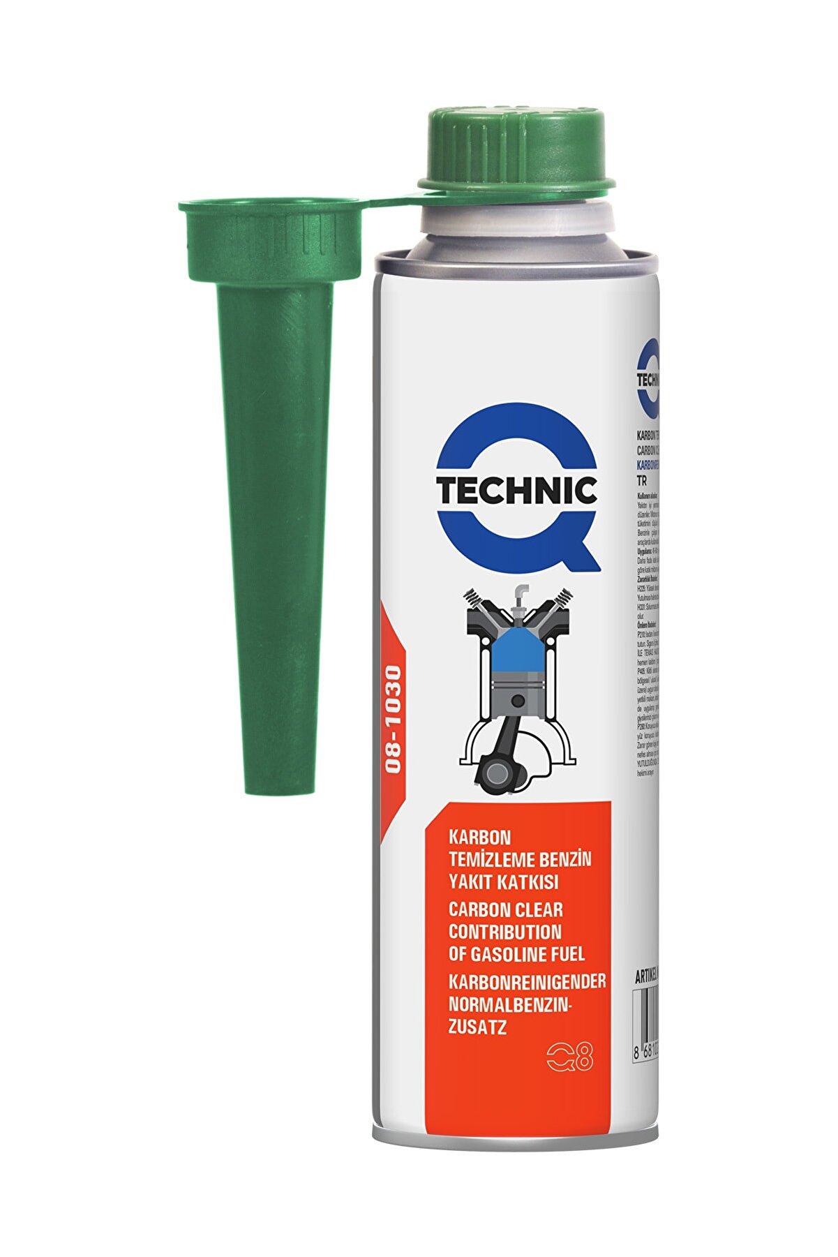 Qtechnic Benzin Enjektör Temizleyici Katkı 300ml