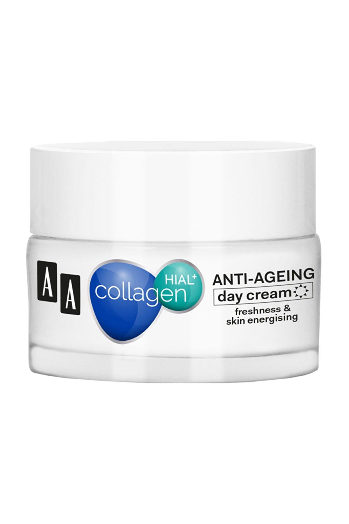 AA Cosmetics AA Collagen Hıal+  Kolajen Yaşlanma Karşıtı Gündüz Kremi 50ml