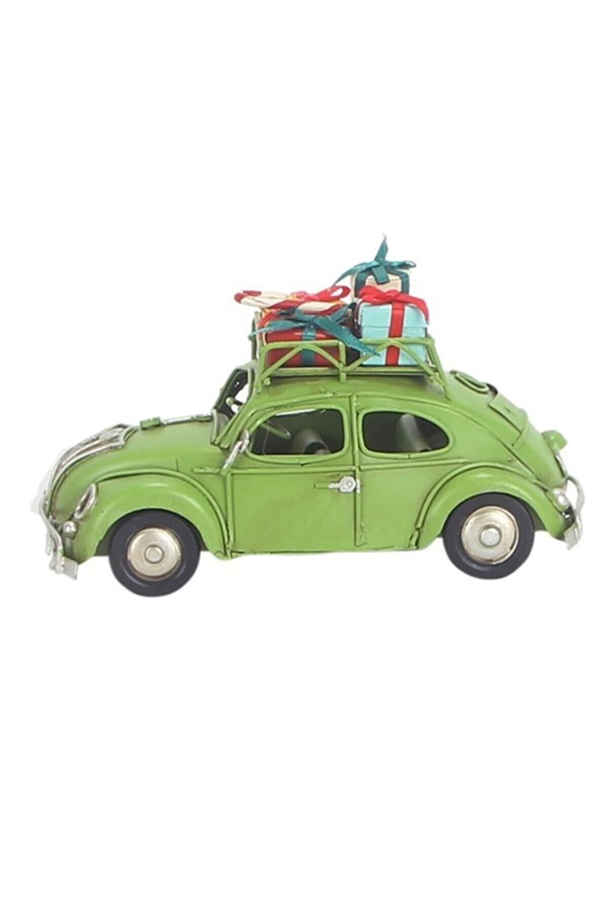 HediyeKanalı Dekoratif Metal Vosvos Yeşil Araba