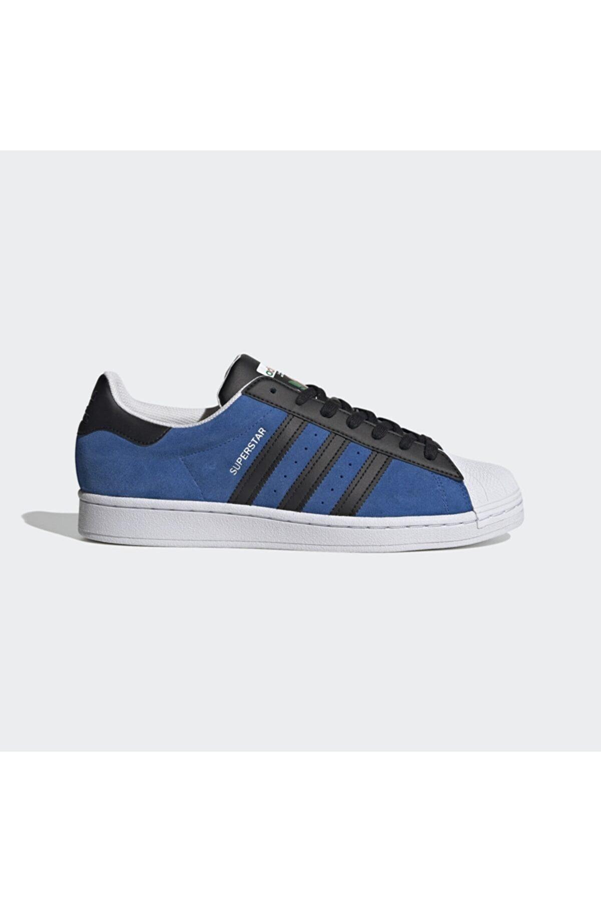 adidas Erkek Mavi Günlük Spor Ayakkabı