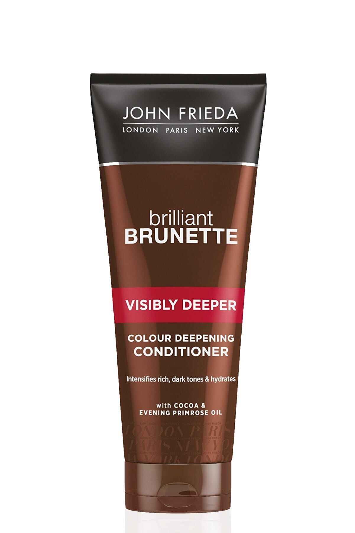 John Frieda Kahverengi Saçlara Özel Ton Koyulaştırıcı Ve Parlatıcı Bakım Kremi - Brilliant Brunette