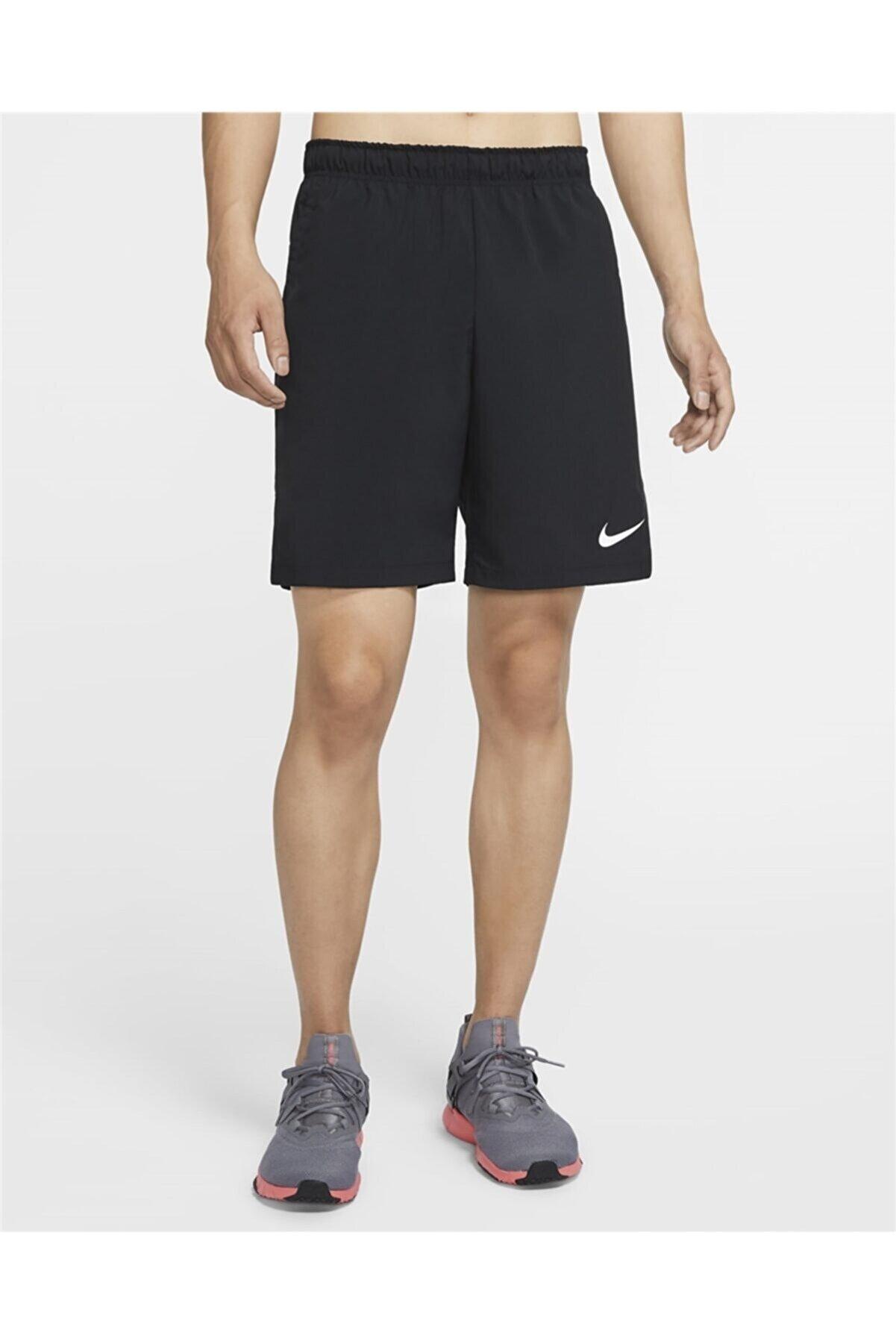 Nike Erkek Siyah  Spor Şort