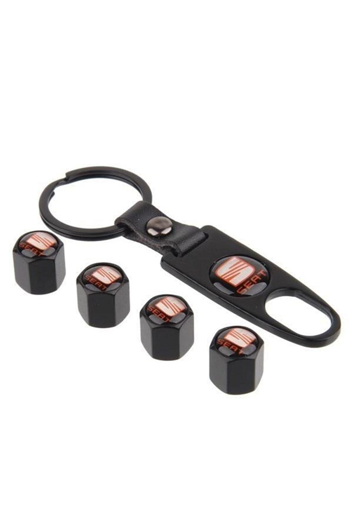 Carmind Seat Metal Sibop Kapağı Anahtarlık Seti