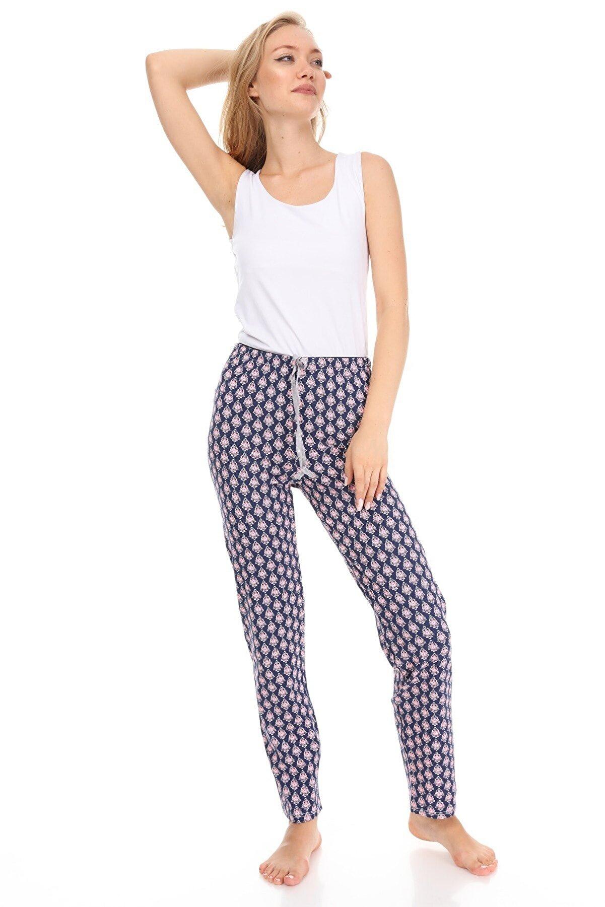 Vivoon Kadın Lacivert Pijama Altı