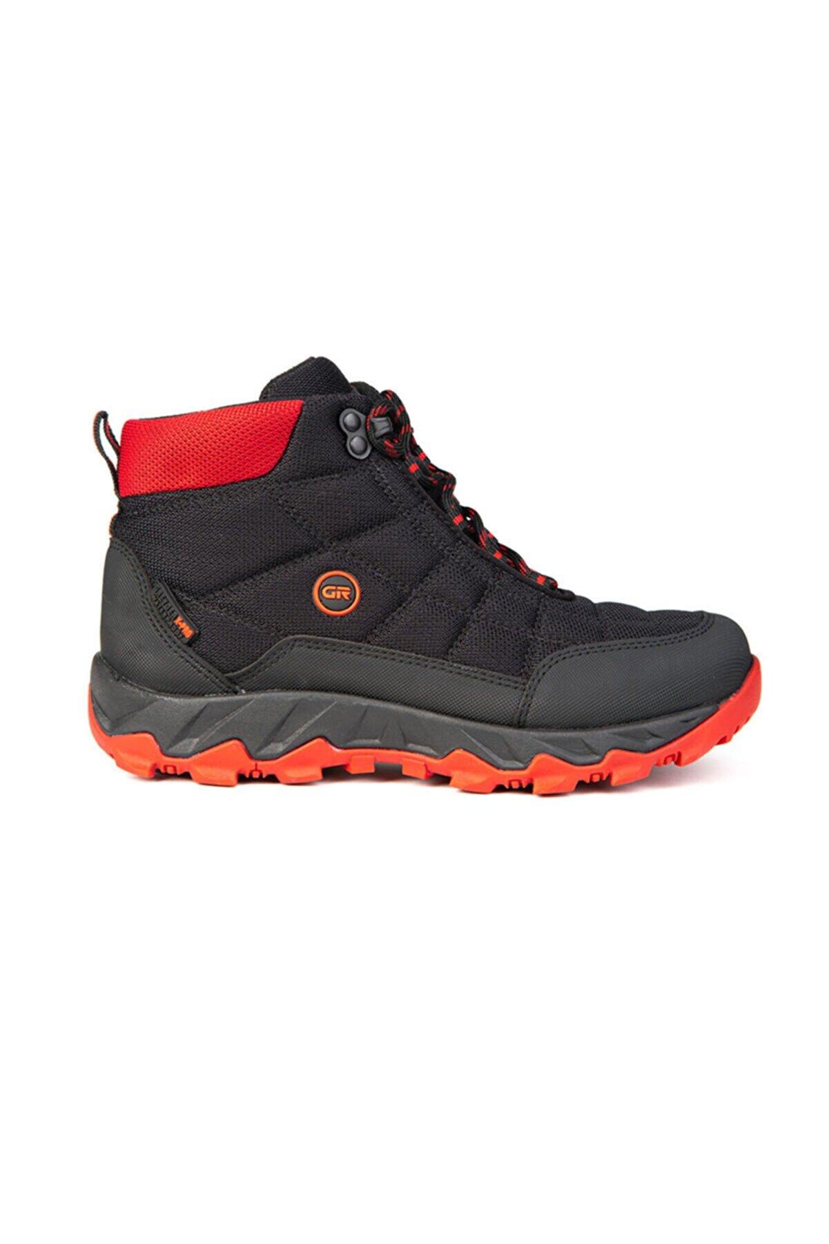 Greyder Kadın Sıyah Kırmızı Outdoor Ayakkabı 0K2GB00170