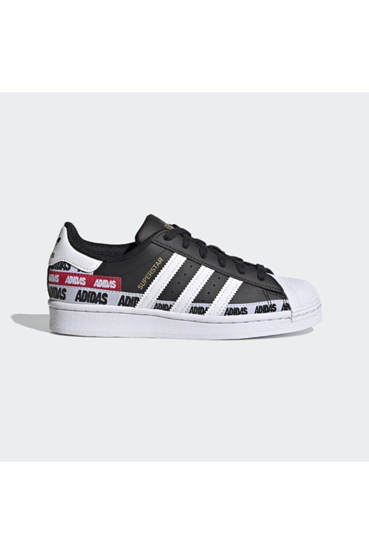 adidas Superstar J Beyaz Unisex Günlük Ayakkabı Ef5399
