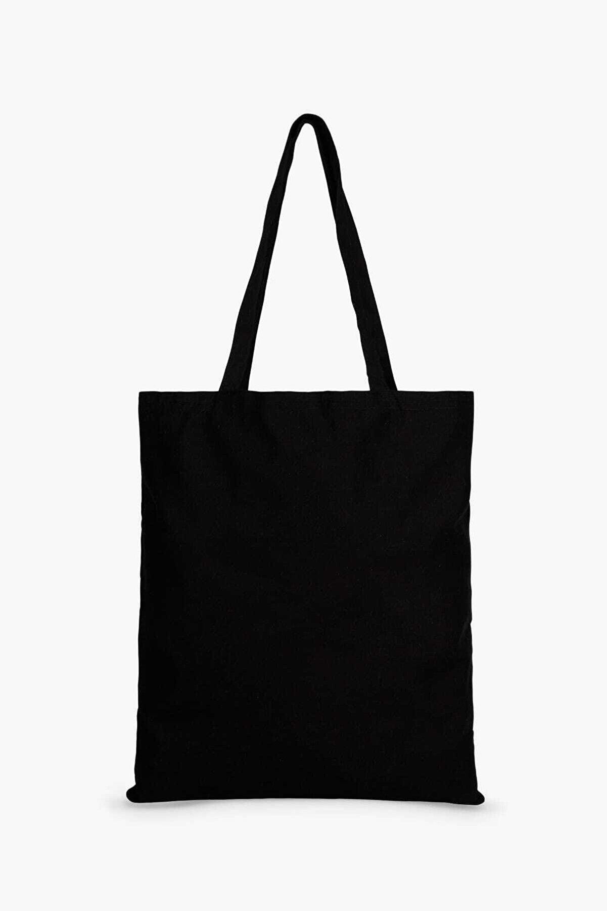 Çınar Bez Çanta Siyah Bez Çanta C0003