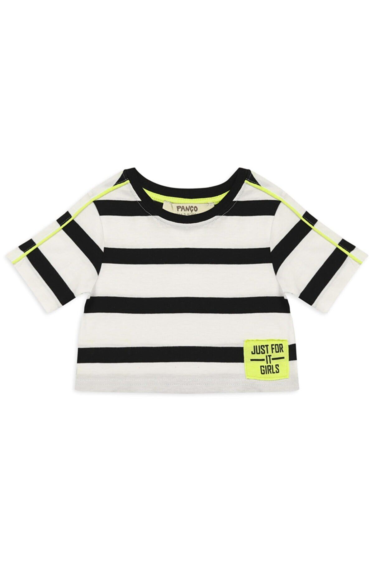 Panço Kız Çocuk Kırmızı T-shirt 2111gk05003