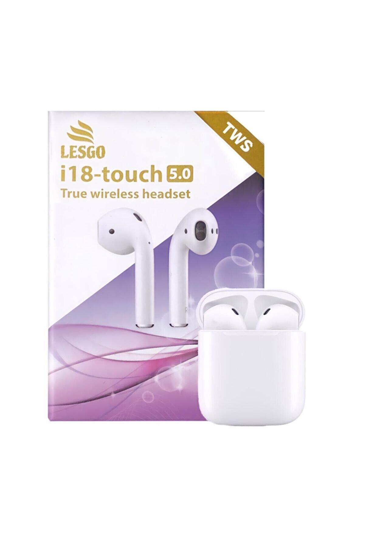 LESGO I18 Tws Bluetooth Kulaklık Unıversal-her Cihaza Uyumlu 2021 Versiyon