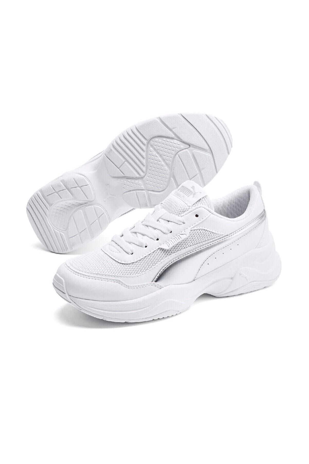 Puma CILIA MODE METALLIC Beyaz Kadın Sneaker Ayakkabı 101085359