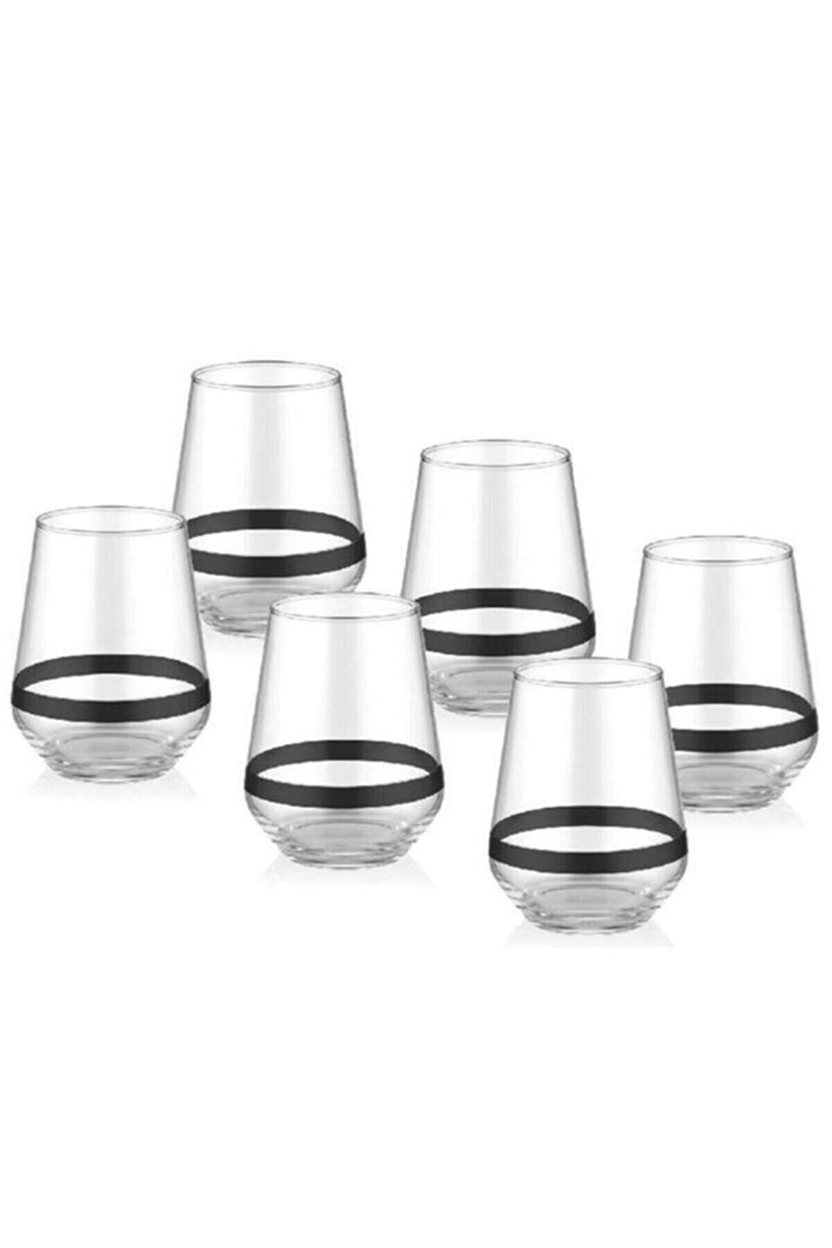 The Mia Dark Su Bardağı Kısa 6 Lı Set