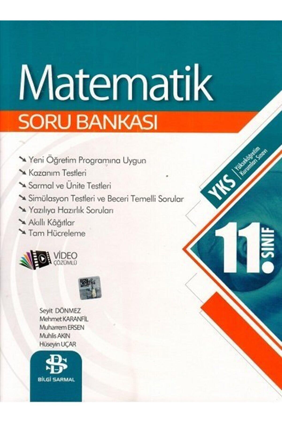 Bilgi Sarmal Yayınları Bilgi Sarmal 11. Sınıf Matematik Soru Bankası Yeni 2022