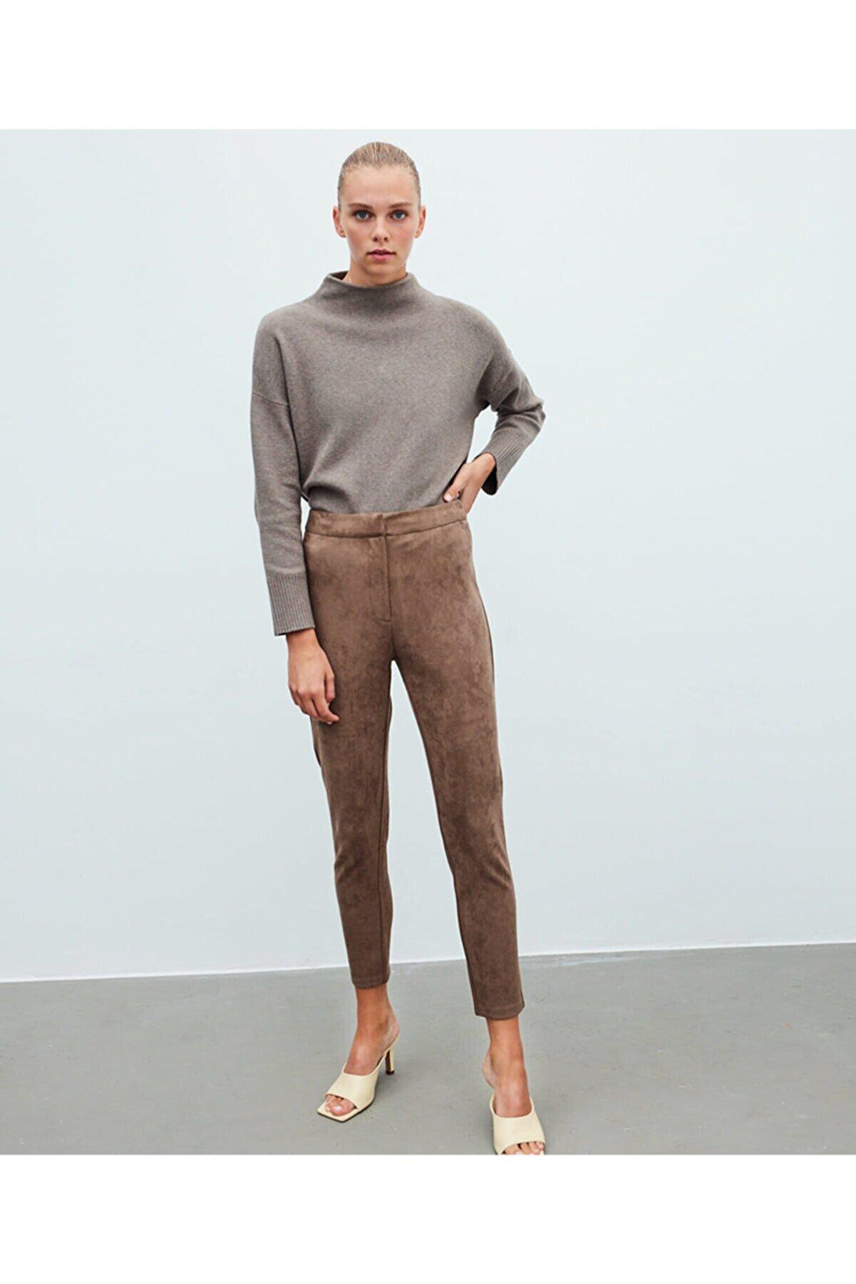 İpekyol Süet Pantolon