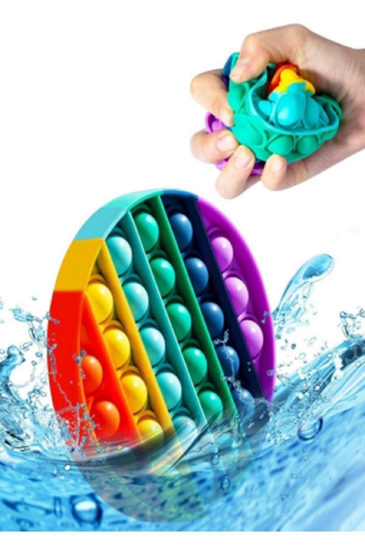 BAŞEL OYUNCAK Push Bubble Fidget Özel Pop Duyusal Oyuncak Zihinsel Stres